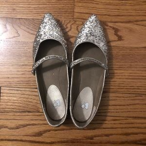 BP. Pointed toe flats.